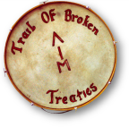 American Indian Movement drum