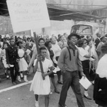 Freedom Day demonstration participants, 1963